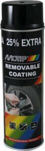 Sprayplast Motip - glanzend zwart (spuitbus á 500 ml)