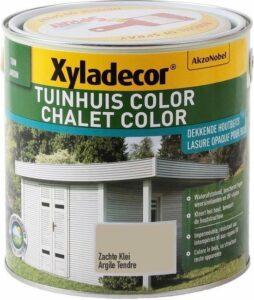 Xyladecor Tuinhuis Color - Houtbeits - Zachte Klei - Mat - 2,5L