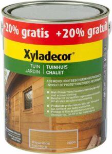 Xyladecor Tuinhuis - Houtbeits - Kleurloos - 2,5 + 0,5 Liter