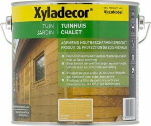 Xyladecor Tuinhuis - Houtbeits - Kleurloos - 2,5L